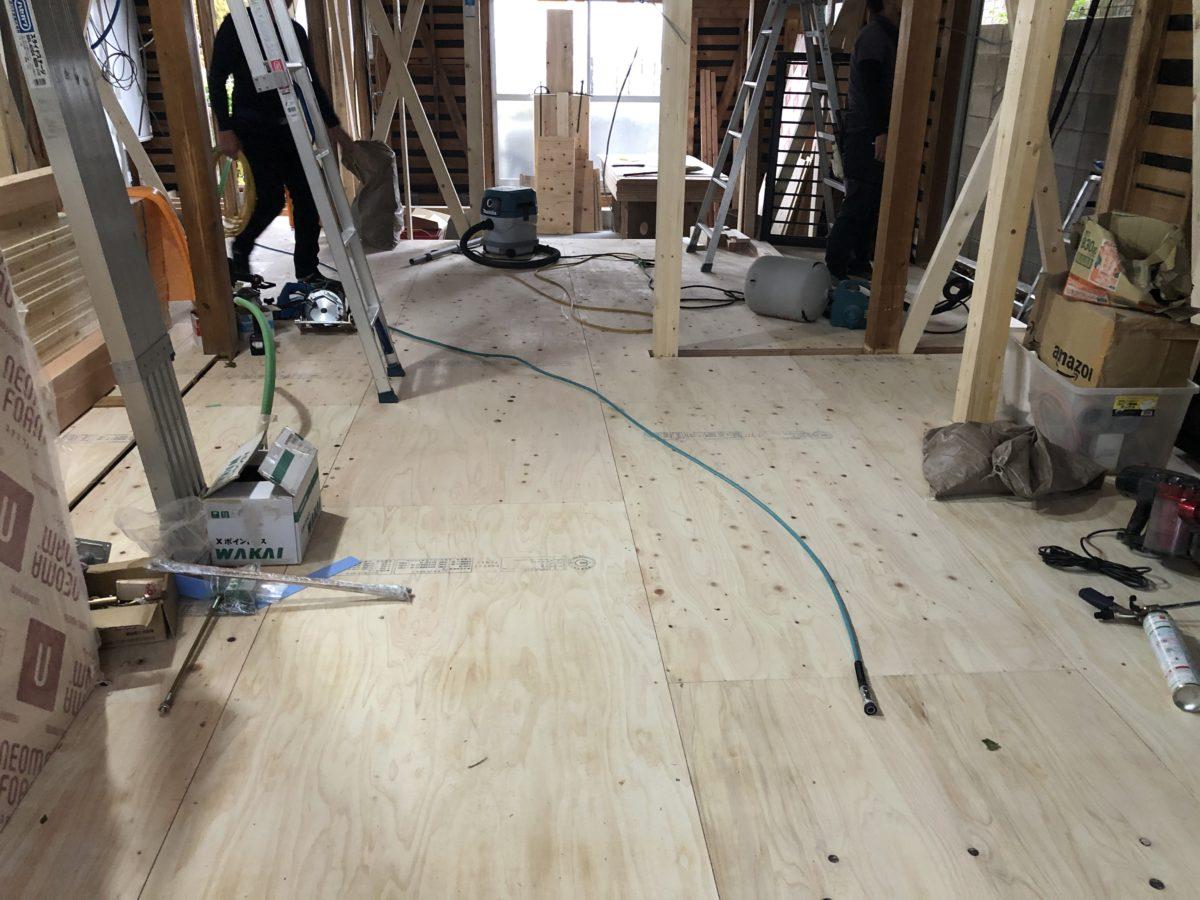 木工事、継続中🔨