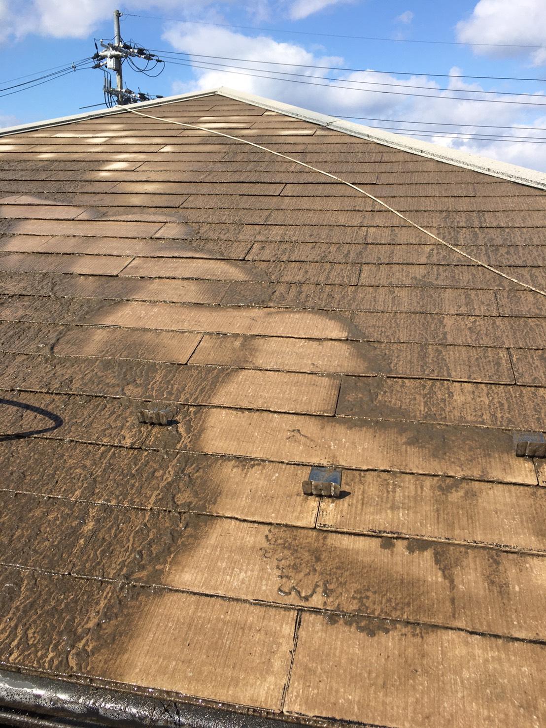屋根の塗装🙌🏻
